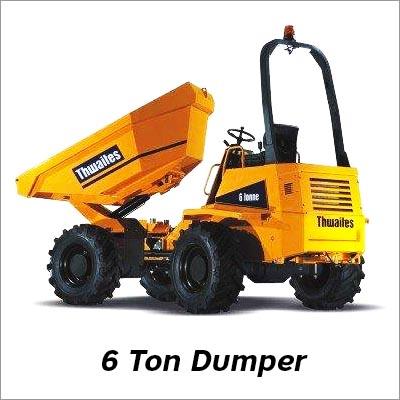 6 Ton Dumper
