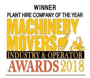 Machinery Movers Award