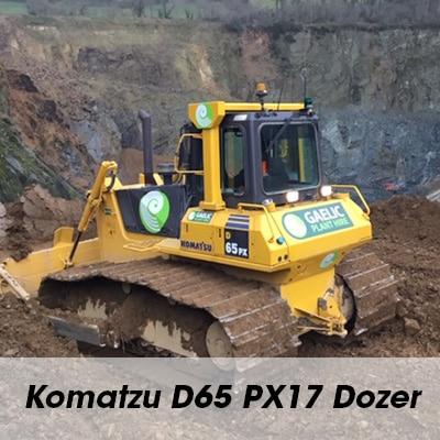 Komatzu D65 PX17 Dozer